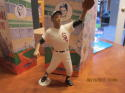 1988 Luis Aparcio White Sox  Hartland with box