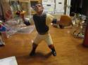 1961 original yogi Berra yankees Hartland with mask