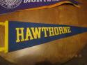 1960's Hawthorne pennant