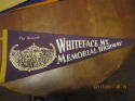 1960's whiteface mt. Memorial Highway the summit pennant