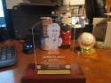 John Elway HOF Etched Plaque Bust Plaque
