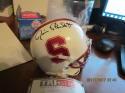 Jim Plunkett Stanford signed mini helment tri star