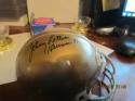 johnny Lattner Notre Dame Signed Mini Helmet Heisman 1953