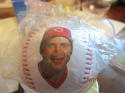 Johnny Bench Reds HOF 1989 Fotoball  baseball