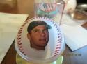 Carl Yastrzemski boston red sox 1989 retirement Fotoball baseball