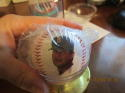 Carl Yastrzemski boston red sox 1989 all star game Fotoball baseball