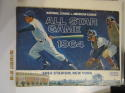 1964 All Star Game program ex-em Shea Stadium Mets unscored