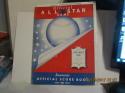1948 All Star Game program ex unscored sportsman park