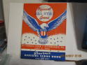 1944 All Star Game program & envelope unscored; em