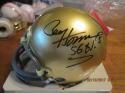 Paul Hornung Signed Notre Dame Mini Helmet tri-star COA
