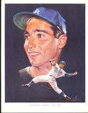 1962 Los Angeles Dodgers Union oil set 24 cards Sandy Koufax Don Drysdale