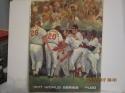 1971 World Series Baltimore Orioles vs pittsburgh Pirates Baseball program