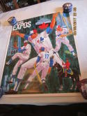 1971 Montreal Expos Poster