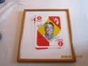 Monte Irvin Signed art Work 1951 topps