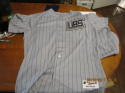 2011 Chicago Cubs 1918 Lester Strode game used full jersey, pants & socks