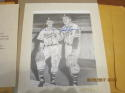 Warren Spahn & Johnny Sain Braves signed lithograph by Score Board Jerry Hersch 8x10