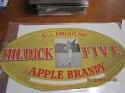 1940's Hilldick Five Apple Brandy All-American Display – Ken Strong, NY Giants HOF