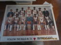 1971 Chicago Bulls WND 560 Team picture poster 19 x 25