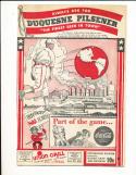 1944 9/4 Chicago Cubs vs Pittsburgh Pirates baseball Program scored gm 2