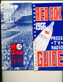 Boston Red Sox 1966 Press TV Media Guide binder edition (only one listed)