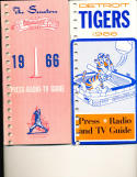 Detroit Tigers 1966 Press TV Media Guide binder edition (only one listed)
