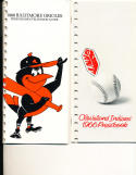 Baltimore Orioles 1966 Press TV Media Guide binder edition (only one listed)