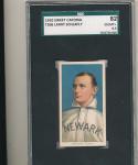 1910 t206 Sweet Caporal Larry Schlafly  Newark sgc82 em 6.5 nice Rare