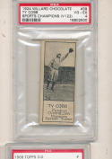1924 Willard's Chocolate #39 Ty Cobb PSA 4 Detroit Tigers HOF