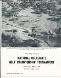 1948 NCAA Golf championship tournament program