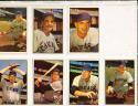 1953 Bowman color Chicago Cubs 11 Card set ex-em