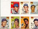 1954 Topps  Chicago Cubs Card set em (no banks)
