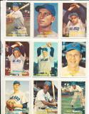 1957 Topps  Chicago Cubs Card set em (no banks)