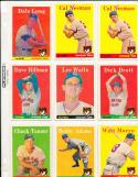 1958 Topps  Chicago Cubs Card set em-nm (no banks)