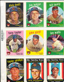 1959 Topps  Chicago Cubs Card near set em-nm (-2)