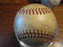 1965-66 Los Angeles Dodgers Team Signed Baseball 22 signatures