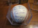 1964 Kansas City Athletics Team Signed Baseball em/nm 30 signatures