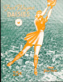 1945 Fort Wayne Daisies  All American Girls Baseball League Yearbook