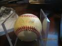 Dave Winfield HOF padres Yankees Signed baseball OAL brown