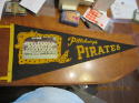1960 Pittsburgh Pirates Team Photo Pennant (world champions) wear