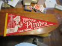 1960 Pittsburgh Pirates Team scroll Pennant National League Champs red version