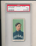 Ed Walsh Chicago White Sox t206 Sweet Caporal 150/30 psa vg+ 3.5