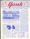 1955 vol 10 #1 Yank New York Yankees Newsletter Elston Howard