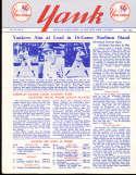 1955 vol 10 #2 Yank New York Yankees Newsletter Casey Stengel