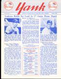 1955 vol 10 #4 Yank New York Yankees Newsletter Joe dimaggio
