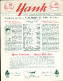 1955 vol 10 #6 Yank New York Yankees Newsletter Yogi Berra