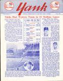 1956 vol 11 #4 Yank New York Yankees Newsletter Larry Doby