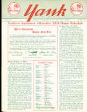 1957 vol 12 #7 Yank New York Yankees Newsletter Team picture