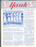 1958 vol 13 #1 Yank New York Yankees Newsletter Mickey Mantle
