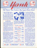 1958 vol 13 #4 Yank New York Yankees Newsletter Joe Dimaggio