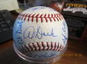 1967 Kansas city Athletics Team Signed Baseball  Reggie jackson rookie Nice
